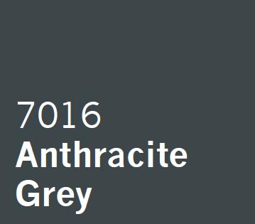 UPVC Spray Coating London Anthracite Grey 7016