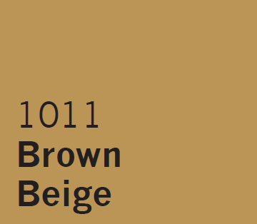 London UPVC Spray Coating Brown Beige 1011