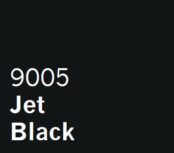 UPVC Spray Coating in London Jet Black 9005
