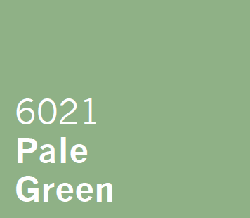 UPVC Spray Coating in London Pale Green 6021